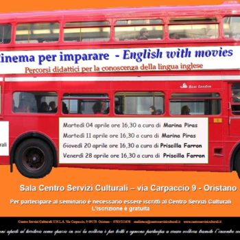 CINEMA PER IMPARARE – English with movies