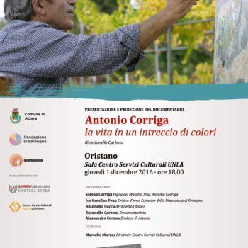 Antonio Corriga la vita in un intreccio di colori