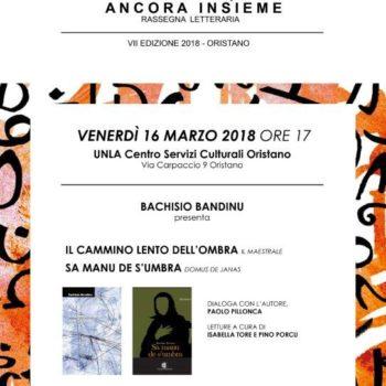 """""""SA MANU DE S'UMBRA"""" e """"IL CAMMINO LENTO DELL'OMBRA"""" di Bachisio Bandinu -"""