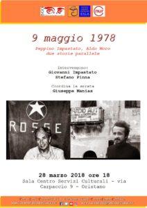"""""""9 maggio 1978: Peppino Impastato, Aldo Moro due storie parallele"""""""