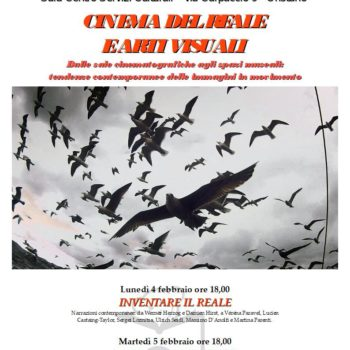 CINEMA DEL REALE E ARTI VISUALI