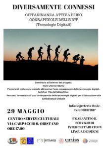 DIVERSAMENTE CONNESSI Cittadinanza attiva e Uso consapevole delle ICT (Tecnologie Digitali)