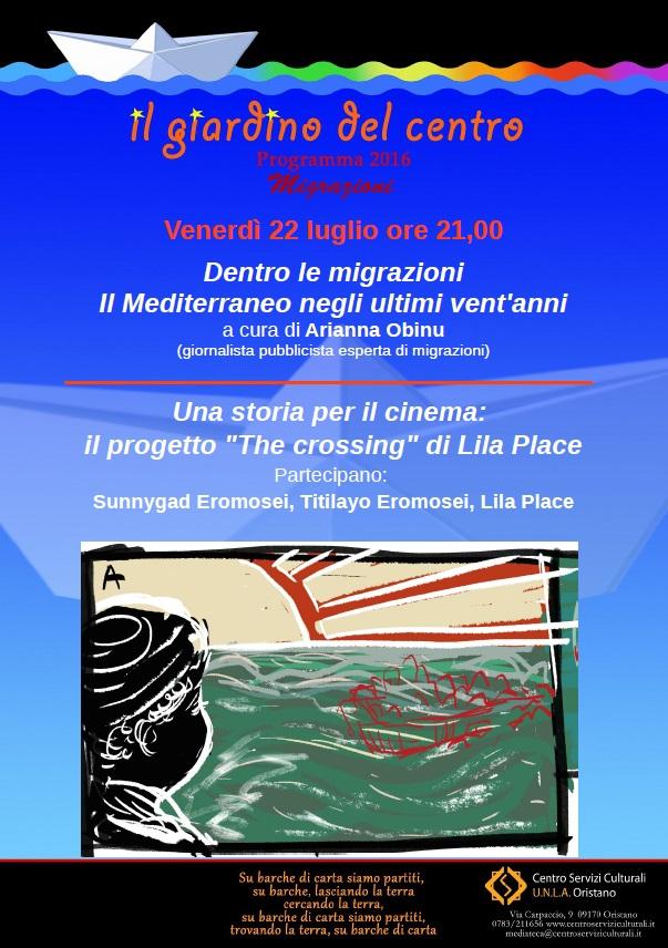 """Dentro le migrazioni. Il progetto """"The crossing"""""""