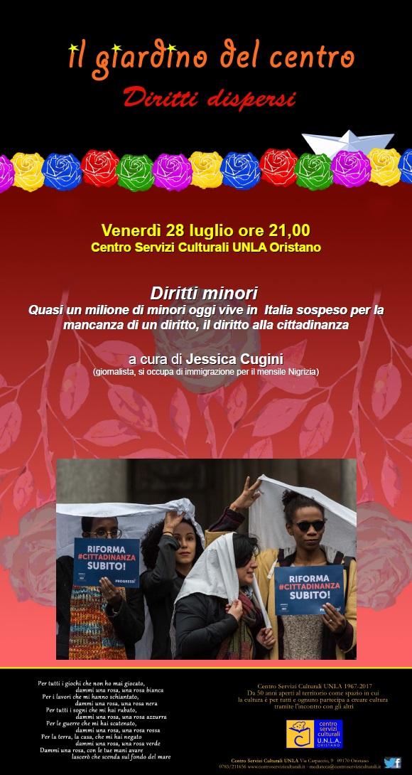 Locandina Diritti minori
