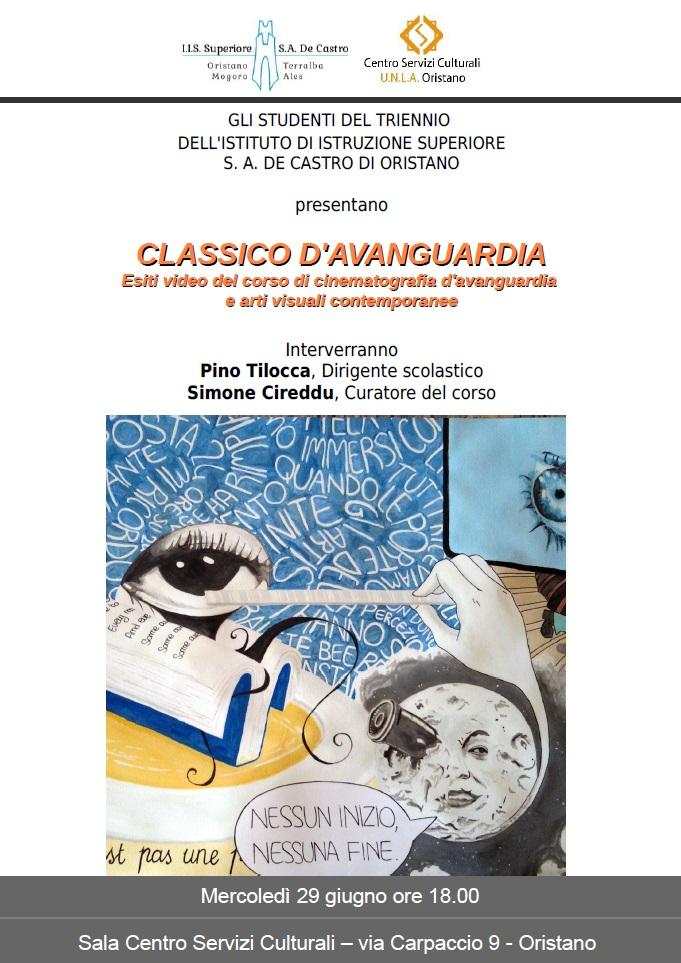 CLASSICO D'AVANGUARDIA