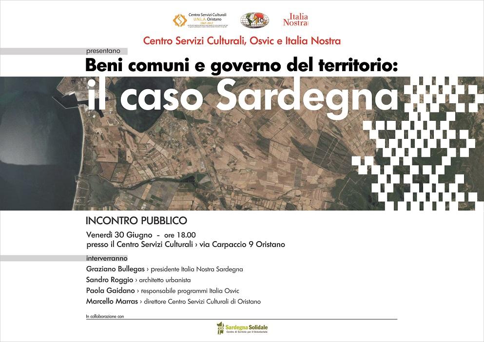 Locandina Beni Comuni e Governo del Territorio