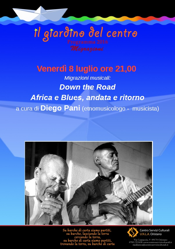 Down the Road Africa e Blues, andata e ritorno