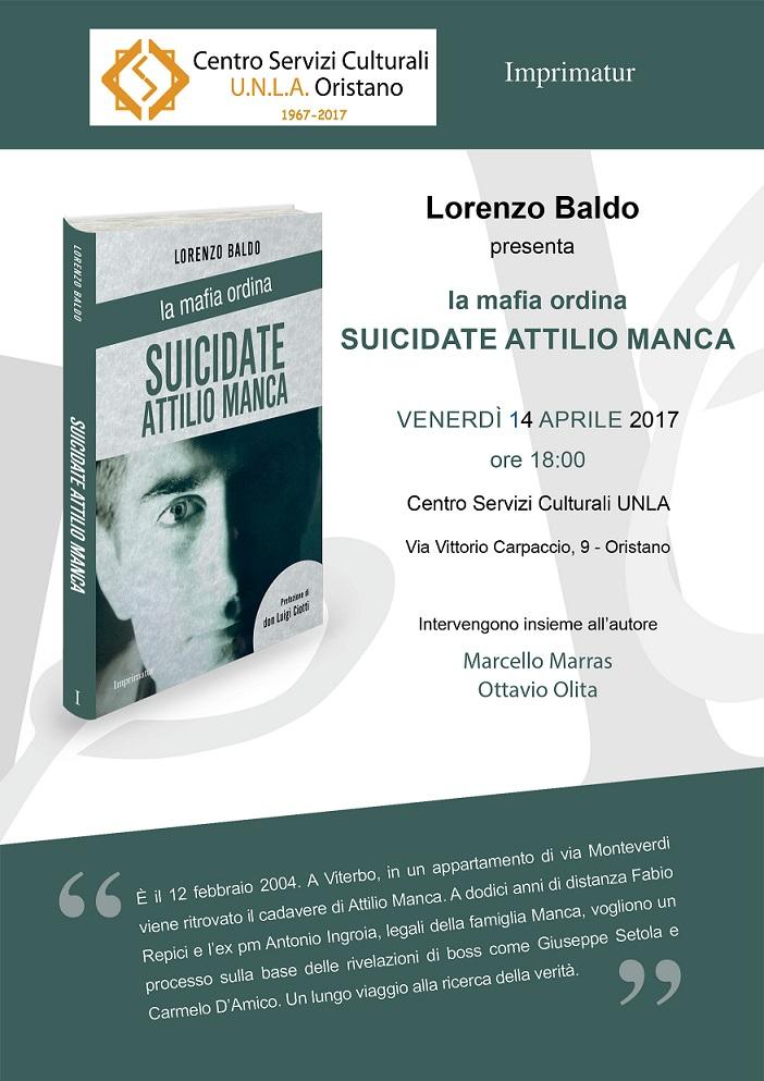 Locandina Suicidate Attilio Manca