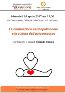 La rianimazione cardiopolmonare e la cultura dell'autosoccorso