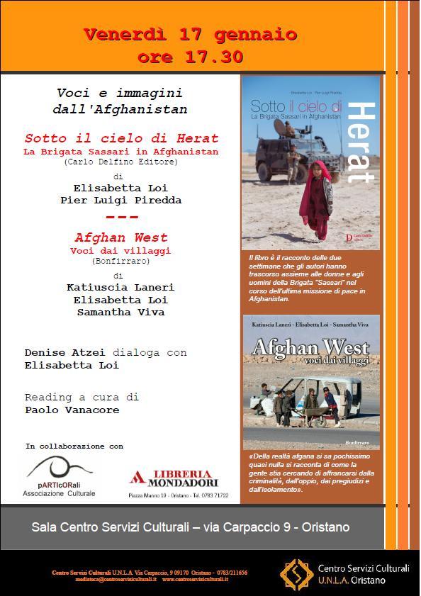 Voci e immagini dall'Afghanistan