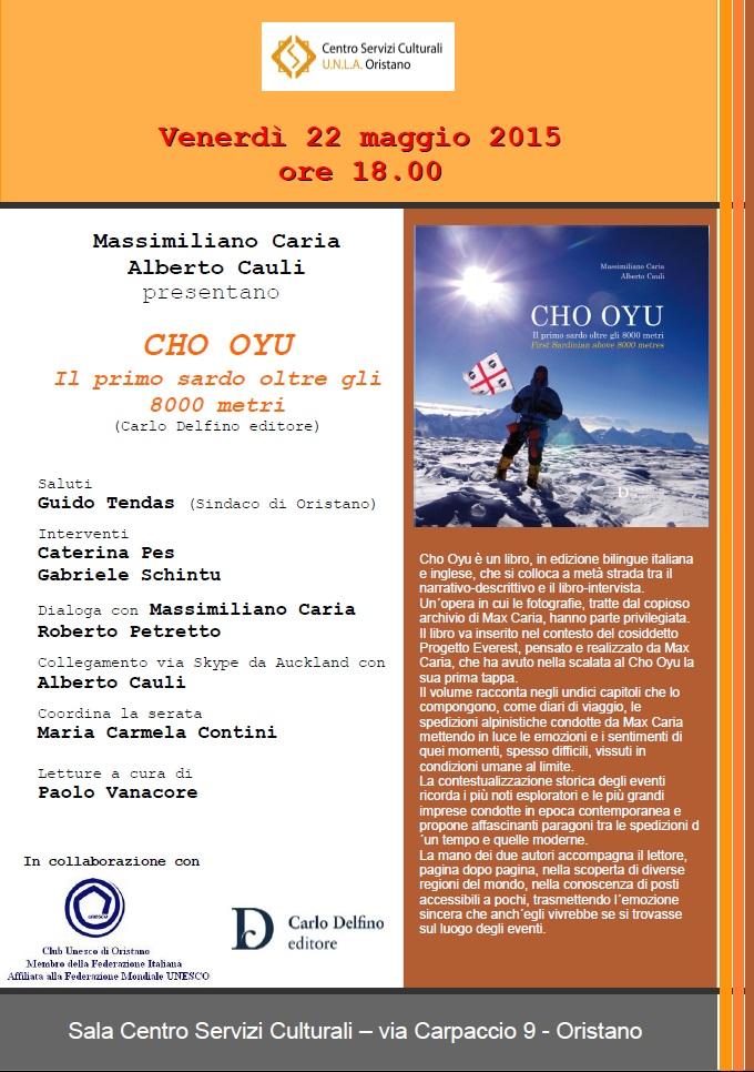 CHO OYU Il primo sardo oltre gli 8000 metri
