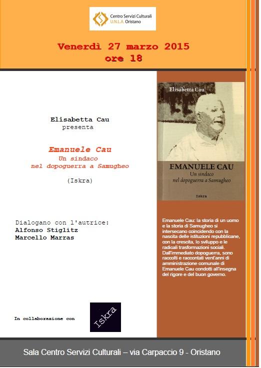 Emanuele Cau Un sindaco nel dopoguerra a Samugheo