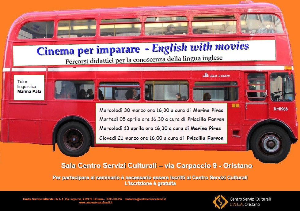 CINEMA PER IMPARARE – English with movies;