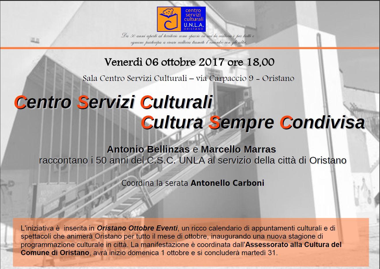 Centro Servizi Culturali - Cultura Sempre Condivisa