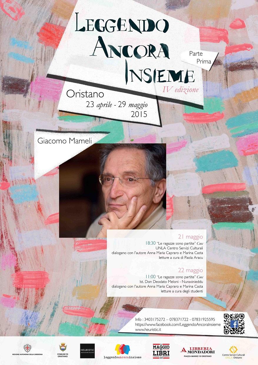 Incontro con l'autore: Giacomo Mameli