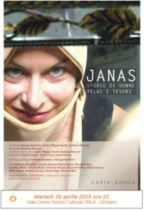 JANAS – storie di donne telai e tesori