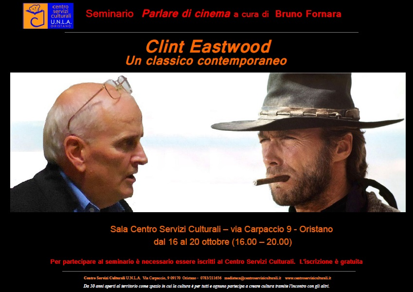 Parlare di cinema: Clint Eastwood