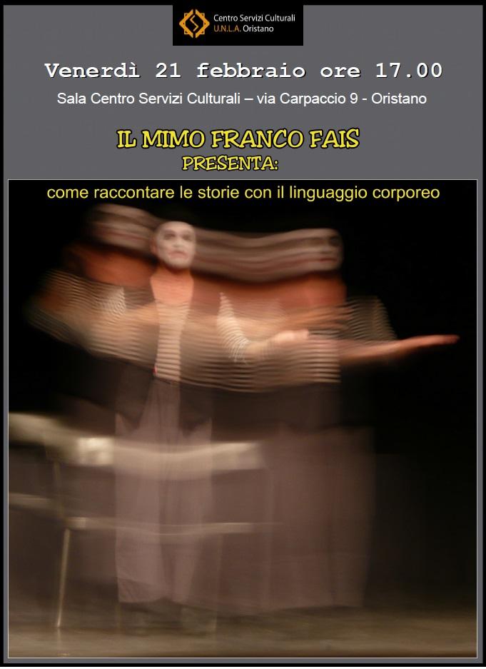 Incontro con il mimo Franco Fais