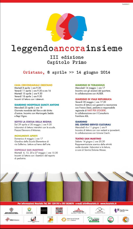 Leggendo ancora insieme 2014 - Programma