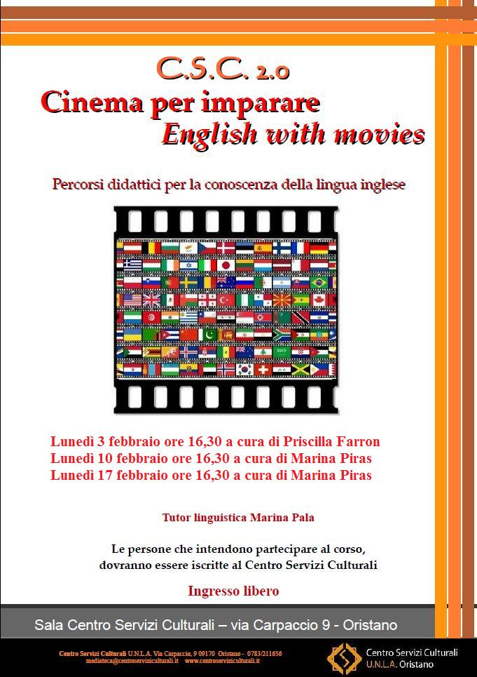 Cinema per imparare: English with movies