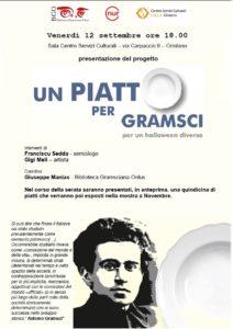 Un piatto per Gramsci