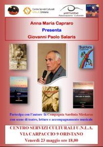 Incontro con Giovanni Paolo Salaris