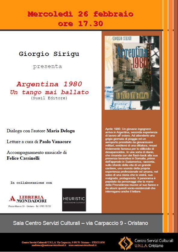 Argentina 1980 - Un tango mai ballato