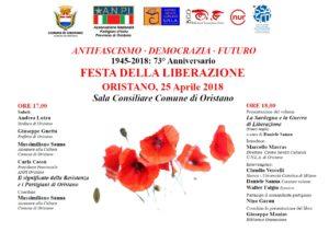 73° Anniversario FESTA DELLA LIBERAZIONE
