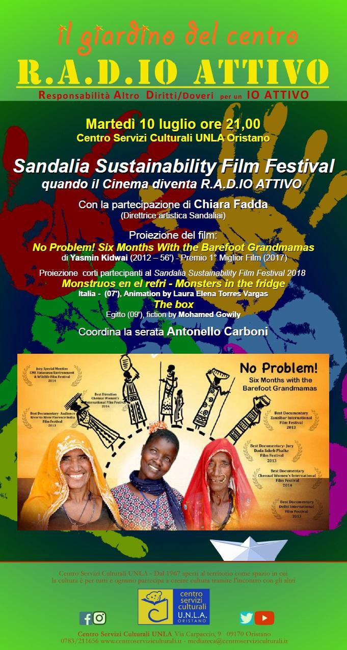 Sandalia Sustainability Film Festival: quando il Cinema diventa R.A.D.IO ATTIVO