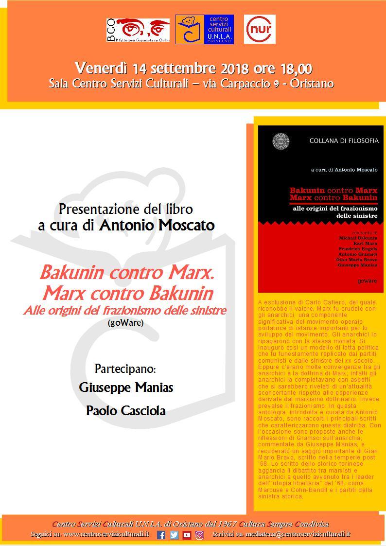 Bakunin contro Marx. Marx contro Bakunin