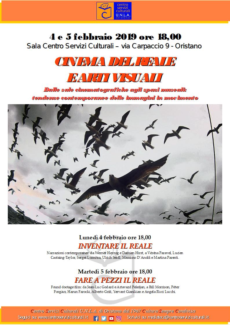 CINEMA DEL REALE E ARTI VISUALI
