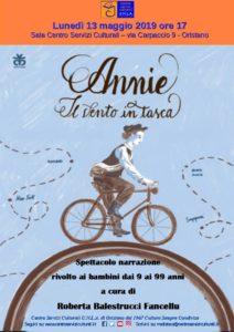 Annie il vento in tasca